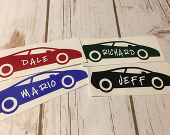Personalized Car Etsy - Custom car decals nz   how to personalize