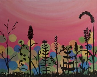 Summer's End - Canvas Painting