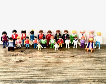 Vintage Lot of Playmobile People / Playmoblie Figurines