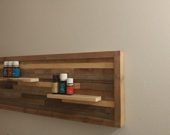 Reclaimed Wall Art/Shelf