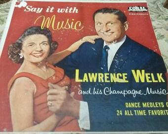 Lawrence Welk Double 45 rpm Album