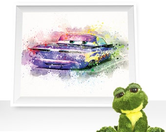 80%OFF Cars print cars wall art, cars wall art Cars printable Ramone print Cars watercolor Ramone printable Ramone watercolor, cars download