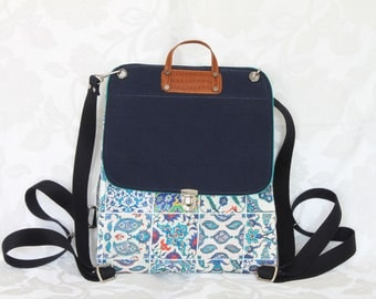 Stylish, Unique Design Backpack (Or cross body bag)