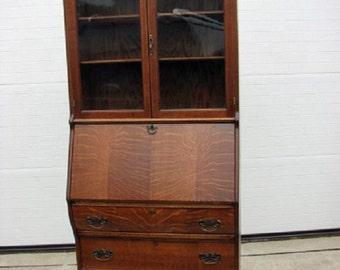 Quarter sawn Oak Security Bookcase