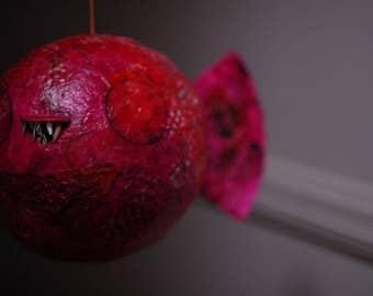 Pink Fish Piñata