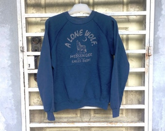 On Sale Vintage Edwin A Lone Wolf Made in Usa