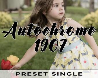 Autochrome 1907 Preset - Individual Lightroom Preset