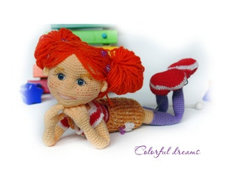 Crochet pattern Doll Tonya
