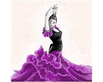 flamenco dancer/bailaora flamenca