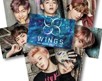 BTS ynwa Sticker Set