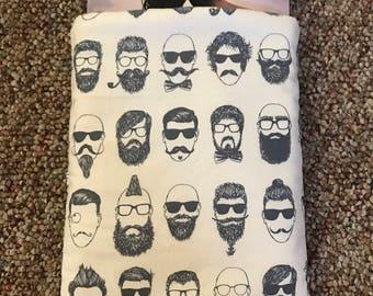 INDIE Bearded Men Book Sleeve