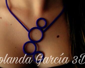 Necklace bubbles 3D