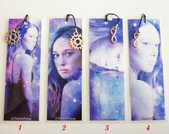 Alycia Debnam-Carey, Lexa, The 100, Clexa, 4 to choose from, laminated bookmarks