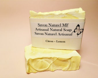 Natural Lemon Scented with Essential Oils