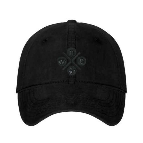 North, East, 'Tennessee', West Unstructured Baseball Cap//Nashville Southern Activewear
