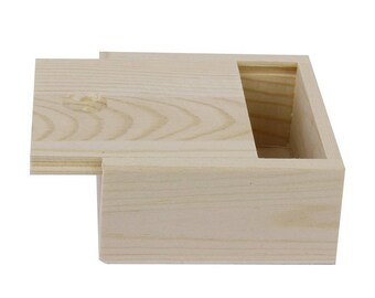 Small (3.3 in.) Wooden Box