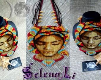 Ethno necklace Keeper Deserts