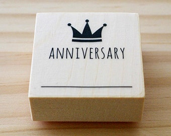 CLEARANCE SALE - ANNIVERSARY stamp
