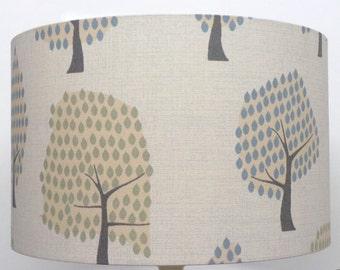 Forest Woodland Scandi Duck Egg Tree Design, Ceiling Light /Table Lamp shade