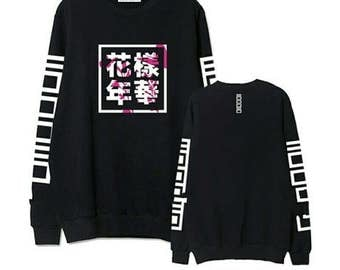 Kpop BTS (BANGTAN BOYS) new sweater! And with tag member t-shirt!