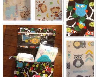 Diaper bag / clutch / Travel diaper bag