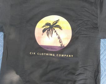 CIK Clothing Company Palm Tree T-shirt