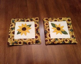 Sunflower Hot Pad