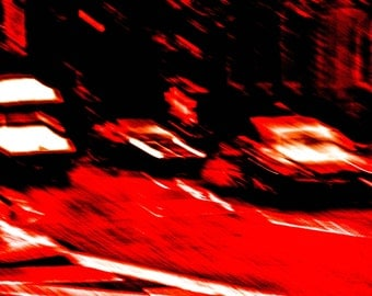 Red Traffic photograph