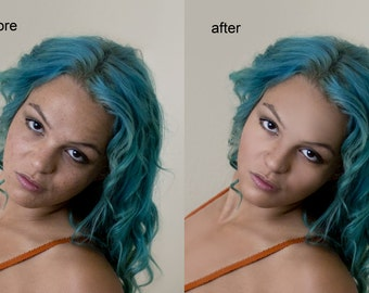 Photoshop Action - Ultimate Skin Retouching
