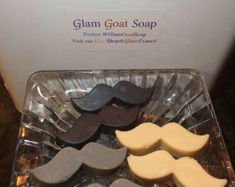 Mustache Soap (2 per order)