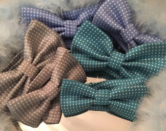 ON SALE Father & son matching bow tie set. Stunning , occassion, accessories , wedding, christening , party