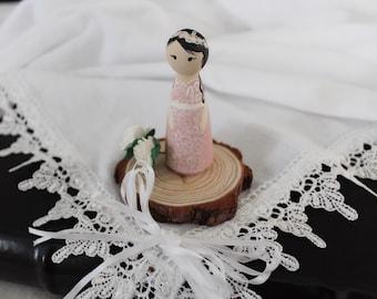 The Custom Jenny Peg Doll Cake Topper