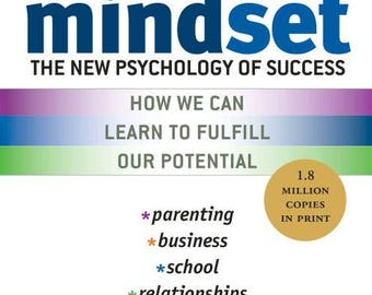 Mindset - The New Psychology of Success, Carol Dweck (2008 Edition) - eBook, ePUB, Mobi, PDF (Fast instant delivery)