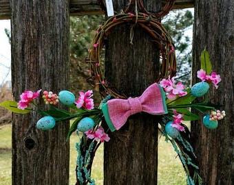 Easter Wreath, Easter Bunny Wreath, Grapevine Bunny,Easter Decor, Bunny Wreath, Bunny Decor, Easter, Bunny, Home Decor, Spring Decor, Rustic
