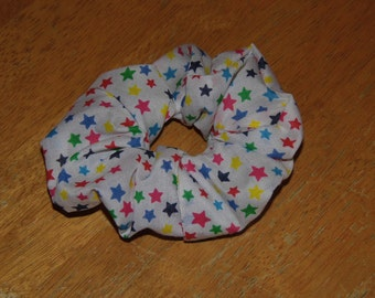 Hair ruffle / scrunchie stars