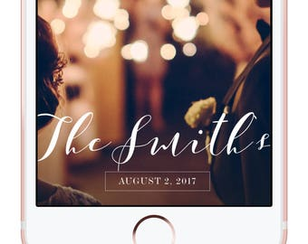 Snapchat Filter Wedding, Snapchat Geotag, Geotag Filter, Geofilter