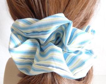 scrunchies scrunchy scrunchie blue  Scrunchie, Chouchou, hair accessories, handmade by ScrunchiesCo