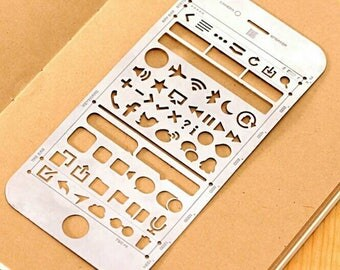 Planner Stencil Messages - Stainless Steel- Planner/Scrapbook/Journal Numbers Message boxes Social Media