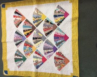 Lap size vintage quilt