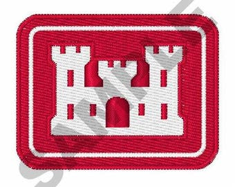 Army Corps Of Engineers - Machine Embroidery Design