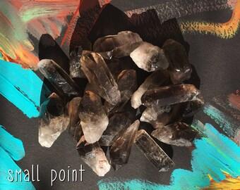 raw smokey quartz