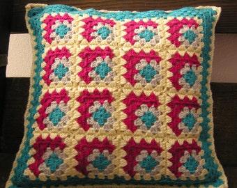Cushion Cover Granny Square