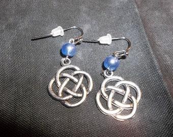 Antique Silver Celtic Knots