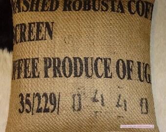 "Coffee sack ""Honduras"", ca. 40 x 40 cm"