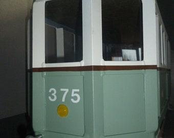 Tram, tram Tram wagon, Wagon, Big, great wagon
