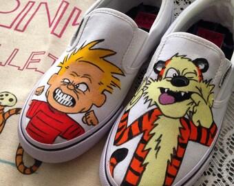 Calvin & Harold slip on