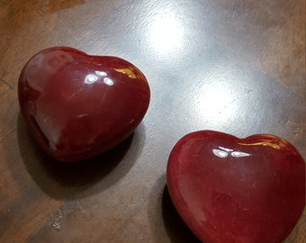 Beautiful Onyx Heart