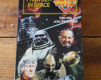 Doctor Who Frontier In Space VHS