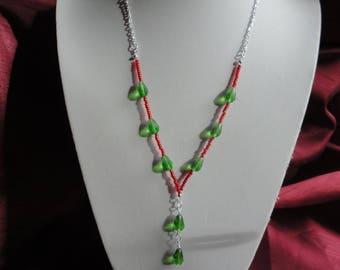 Teardrop Pendant Necklace - N38