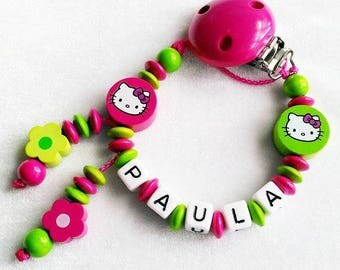 ♥ Hello Kitty green pink
